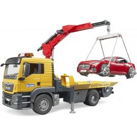 Bruder 03750 - Camion Man Tgs Trasporto Roadster