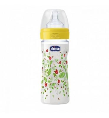 Chicco Biberon Benessere Unisex 250 ml silicone