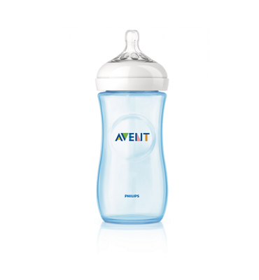 Avent Biberon Natural 330 ML Azzurro