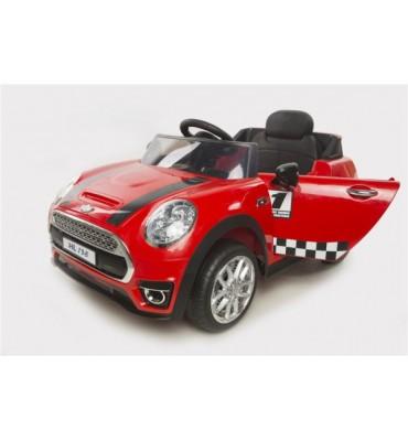 Auto Elettrica Mini Coupé 12V Rossa
