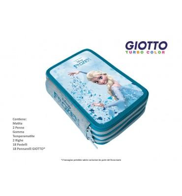 Astuccio 3 Zip Frozen contenuto Giotto