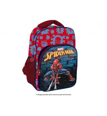 Zaino con Tasca Deluxe cm 30 Spiderman