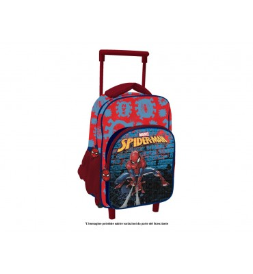 Zaino Trolley Premium cm 30 Spiderman