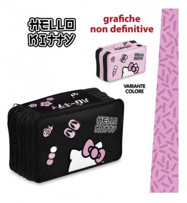 Giochi Preziosi Hello Kitty Astuccio Triplo HK940000 Colori Assortiti
