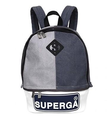 Zaino Backpack Superga Sign Grei&Blue