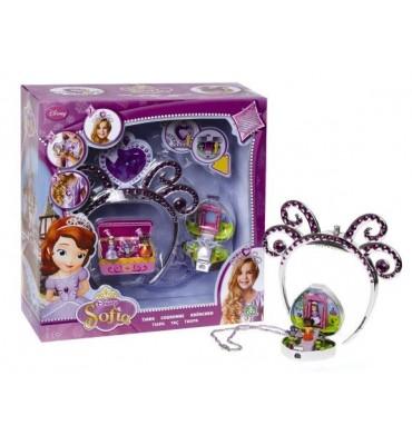 Principessa Sofia, Tiara con mini personaggio Giochi Preziosi