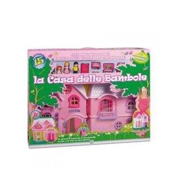 Casa delle Bambole Basic con accessori Giochi Preziosi