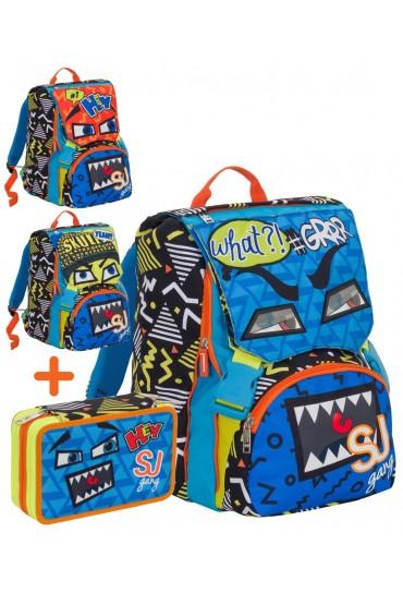 data di rilascio: 6d777 b6992 Seven SJ Gang Facce Schoolpack Boy 6C2001802