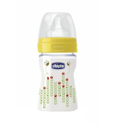 Chicco Biberon Benessere Unisex 150 ml silicone