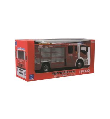 New Ray Camion 1:24 Iveco Stralis Pompieri Radiocomandato