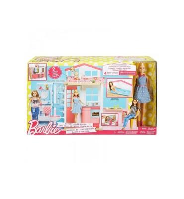Mattel DVV48 - Barbie Casa Componibile con Bambola