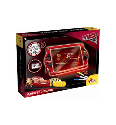 Lisciani Giochi 62454 - Cars 3 Lavagna Magnetica a Led