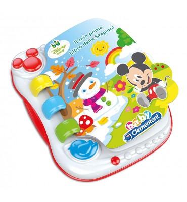 Clementoni 17123 - Baby Clem Disney Mickey Libro Attività