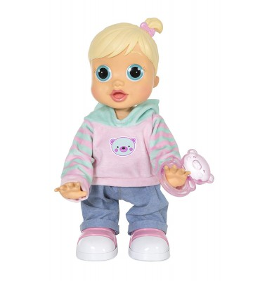 Imc Toys 96325IMIT - Baby Wow Zoe Impara a Camminare