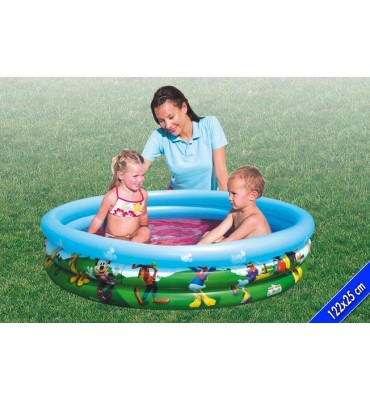 Piscina per Bambini 3 anelli Mickey-Mouse - Bestway 91007