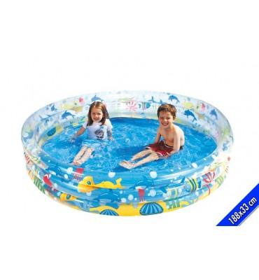 Piscina per Bambini 3 anelli gonfiabili- Bestway 51005