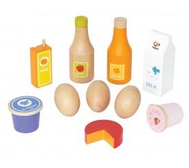 Hape E3108 - Accessori Cucina Ingredienti di Base