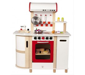 Hape E8018 - Cucina Multifunzione Con Carrello